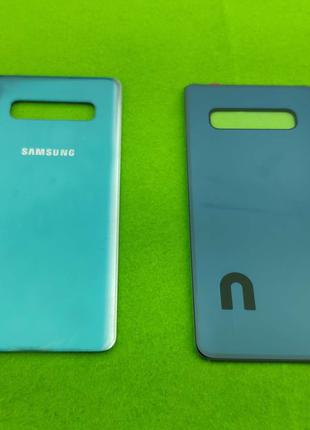 Задняя крышка корпуса Samsung Galaxy S10 Plus, зеленая