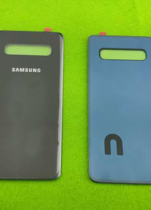 Задняя крышка корпуса Samsung Galaxy S10 Plus, черная