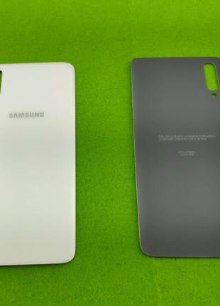 Задняя крышка корпуса Samsung Galaxy A70, белая