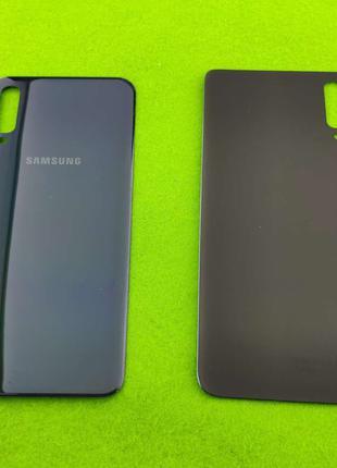 Задняя крышка корпуса Samsung Galaxy A70, синяя