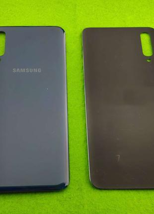 Задняя крышка корпуса Samsung Galaxy A50, темно-синяя