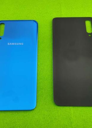 Задняя крышка корпуса Samsung Galaxy A50, голубая