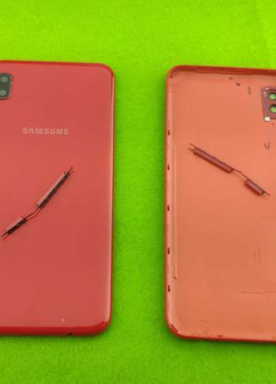 Задняя крышка корпуса Samsung Galaxy A10, красная