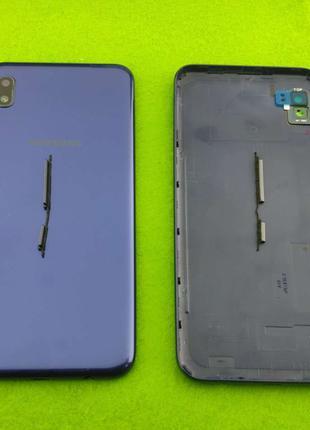 Задняя крышка корпуса Samsung Galaxy A10, синяя