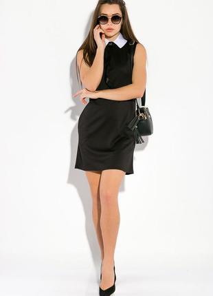 Платье женское с воротничком 83p12160