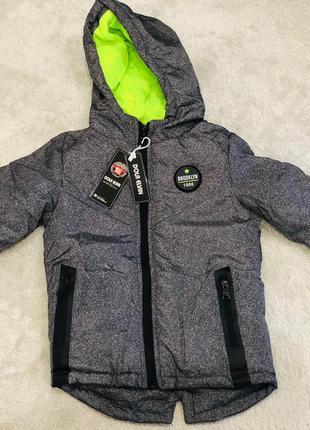 Куртка для хлопчиків в модному стилі сезон осінь-весна