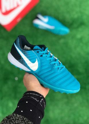 Футбольная обувь Nike Tiempo Ligera IV TF 1137