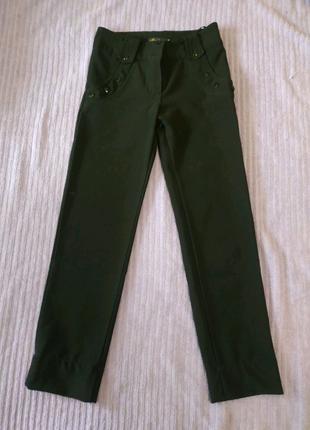 Школьные брюки для девочки р. 140