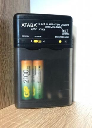 Зарядное устройство для аккумуляторов ATABA Model AT-908
