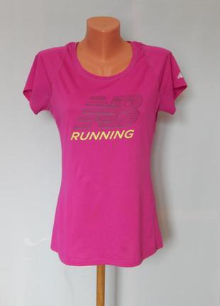 Спортивная футболка от new balance running (размер 38)