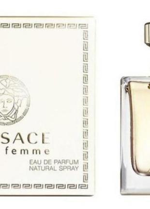 Парфюмированная вода для женщин versace pour femme 30 мл white