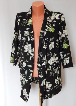 Пиджак в цветочный принт dorothy perkins(размер 38)