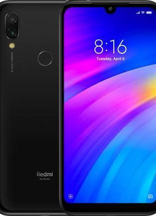 Смартфон Xiaomi Redmi 7 4/64 Black,Blue. Магазин. Гарантия