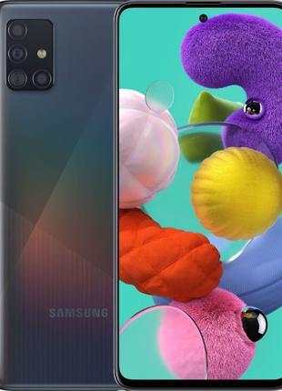 Samsung Galaxy A51 4/64GB Black,Blue,White,Red (SM-A515FZKUSEK)