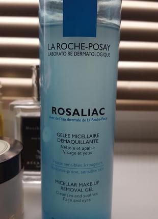 Очищающий мицеллярный гель la roche-posay rosaliac
