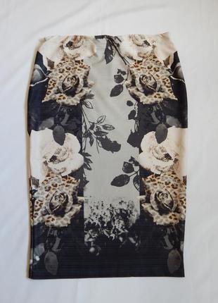 Стильная юбка-карандаш next (размер 40)