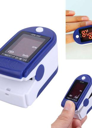 Пульсоксиметр електронный портативный на палец Pulse Oximeter