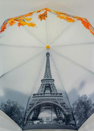 Молодежный зонт-полуавтомат париж эйфелевая башня
