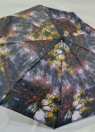 Зонт-автомат lantana в темной цветовой гамме