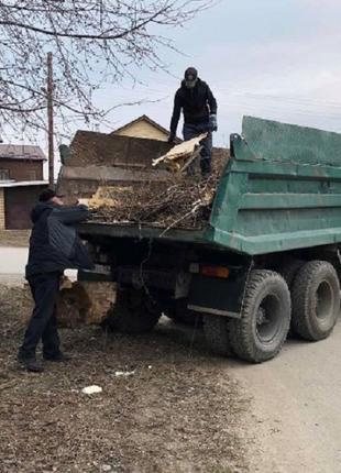 Вывоз строительного мусора,хлама.Услуги Грузчиков