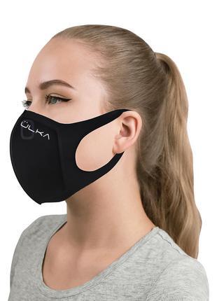 Многоразовая защитная маска питта Ulka с угольным фильтром