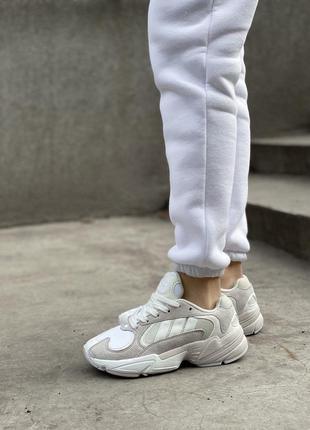 Кроссовки adidas yung 1 gray/white 💎