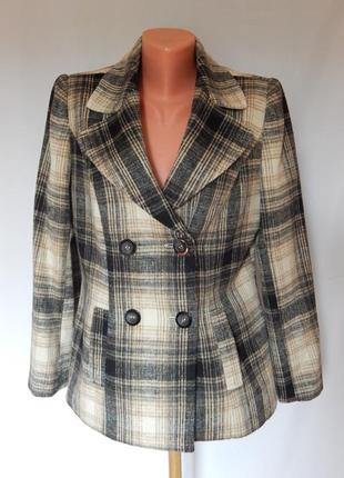 Стильный пиджак -пальто от немецкого бренда isle (размер 12)