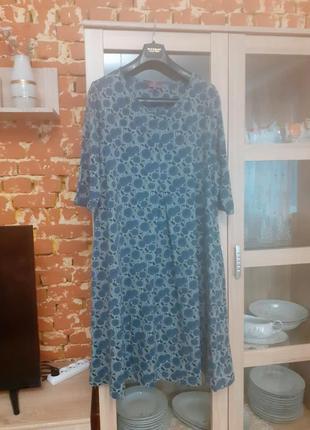 Натуральное платье большого размера германия