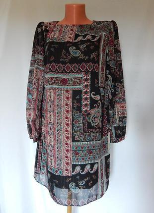 Шифоновое платье от atmosphere( размер 38)
