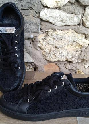 Guess gucci оригинал кроссовки натуральная кожа 38 размер 25см...