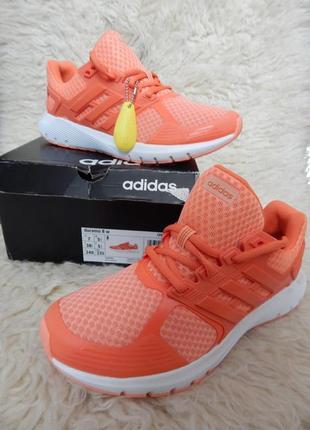 Кроссовки adidas duramo 8  коралловые (размер 38.5)