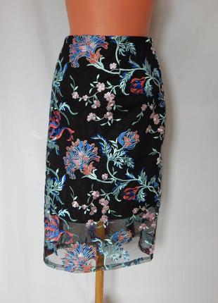 Шикарная юбка lipsy london (размер 38-40)