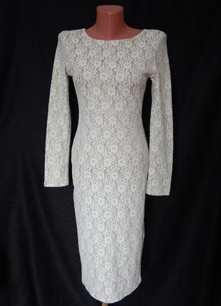 Красивое стильное платье-футляр tfnc london (размер 36)