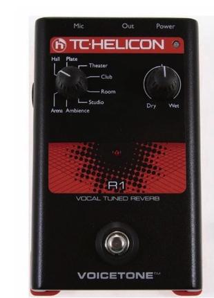 Вокальная педаль реверберации TC HELICON VoiceTone R1