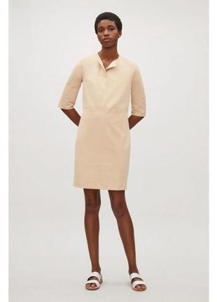Элегантное платье с рукавом 3/4 cos (размер 34-36)