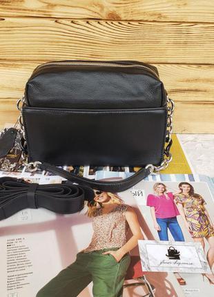 Женская кожаная сумка бочонок через на плечо polina & eiterou ...