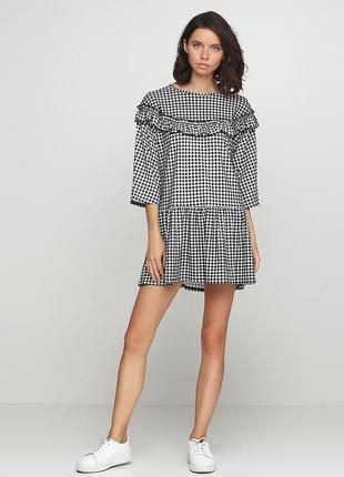 Платье -туника свободного кроя boohoo boutique (размер 36)