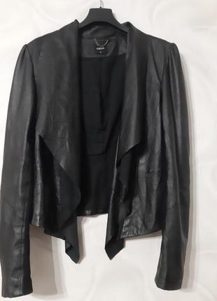 Натуральная кожа гламурный пиджак куртка косуха