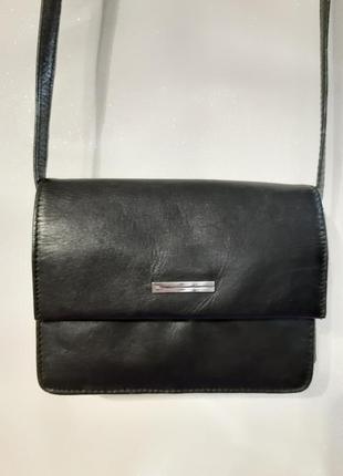 Кожаная сумка кросбоди