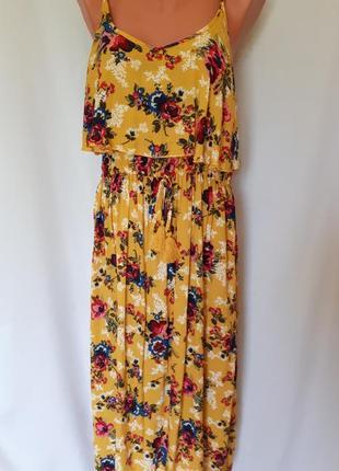 Платье-сарафан new look ( размер 14-16)