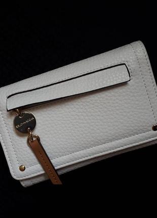 Белый женский кошелек из эко-кожи john rocha (оригинал)