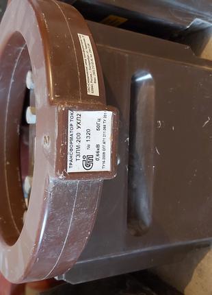 Трансформатор тока ТЗЛМ-200 УХЛ2