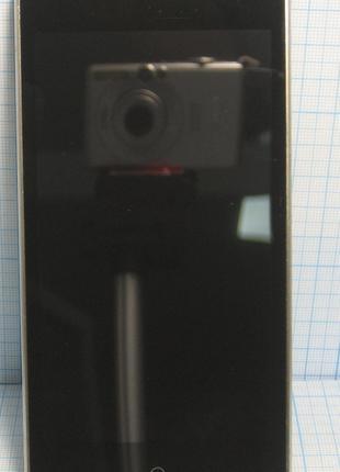 Дисплей (модуль) для DOOGEE X10 з сенсором та рамкою  чорний б/в