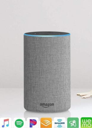 Amazon Echo 2 (2nd Generation) Bluetooth Wi-Fi смарт колонка