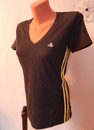 Спортивная футболка adidas climalite (размер 12-14)