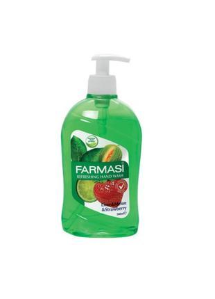 Фруктовое жидкое мыло Fruity Care Лайм Дыня Клубника 500 мл