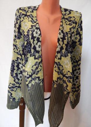 Легкий пиджак на подкладке casa blanca (размер 42)