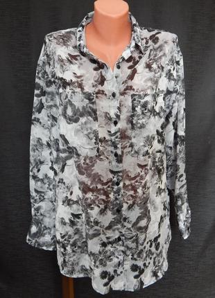 Рубашка -блуза прямого кроя influence (размер 10)