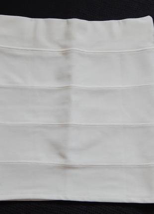 Белая юбка от tally weijl (размер 40)