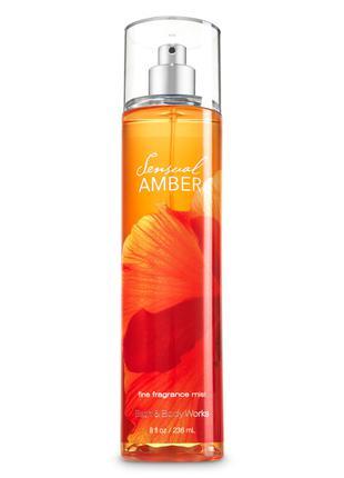 Парфюмированный спрей для тела Bath & Body Works Sensual amber